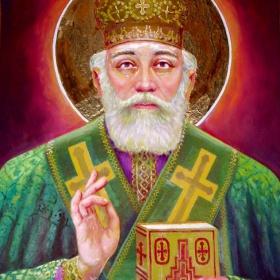 Икона на Св.Николай Чудотворец