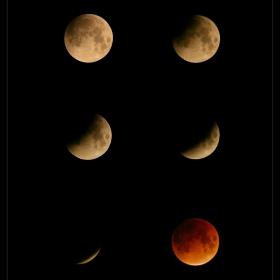 Пълно лунно затъмнение 21.02.2008
