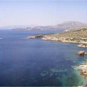 Южно гръцко крайбрежие (от автобус)