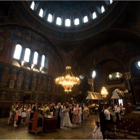 църковен брак в