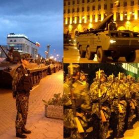 Военен парад на Българската армия(Генерална репетиция, 4 май 2008 г., (1)