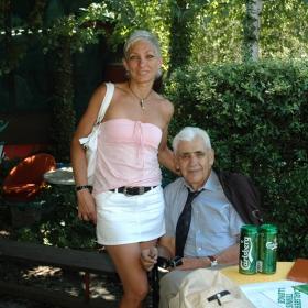 Доайенът на българския тенис Д-р Тодоров в очакване на церемонията по награждаване