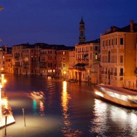 Вечерна разходка във Венеция