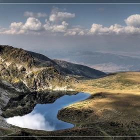 Езерото Бъбрека, едно от 7-те рилски езера