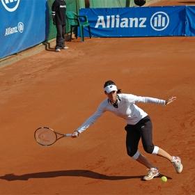 Цветана Пиронкова, финалист на   Международен тенис турнир за жени ALLIANZ BULGARIA CUP, Sofia 2008