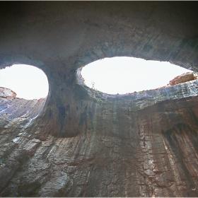 Природни чудеса от Карлуковските пещери: Божиите очи