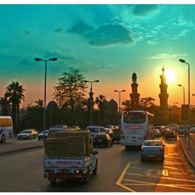 На Кайро трафика