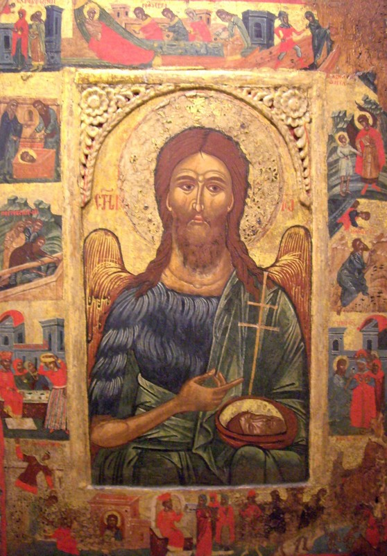 Ивановден(Икона на Св.Йоан Кръстител)