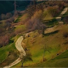 Път се вие през нивята