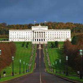Белфаст, Северна Ирландия, сградата на Парламента
