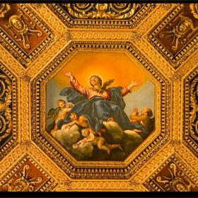 - Santa Maria in Trastevere (детайл) -