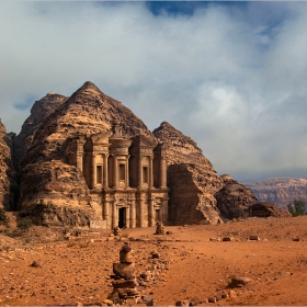 Манастирът в Петра