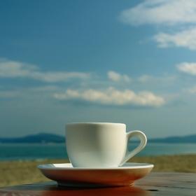 На кафе