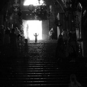 Мальчик в Храме. Иерусалим.