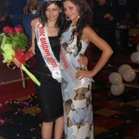 Мис Видин 2009 Синела Симеонова и Мис Видин 2008 Дебора Иванова