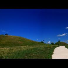Гинина могила- панорама