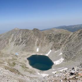От връх Мусала 2925метра