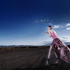 Queen II (model : Iva Yankulova  hair : Val  Designer : Evgeni Petkov