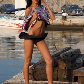 Морски бриз / Анна Иванова - Принцеса на Варна 2009, фотосесия за списание FHM /