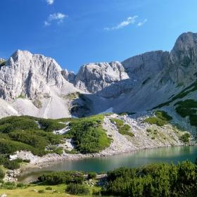 Връх Синаница....езерото...