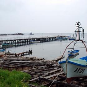 Ахтопол - рибарският кей