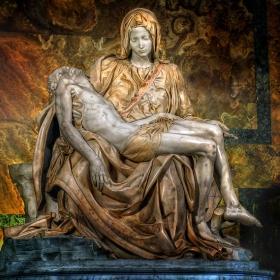 La Pieta (Милост) Basilica di San Pietro - Vaticana