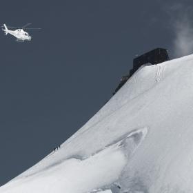 Човекът и Природата, Изкачване на връх Роза, 4555м.
