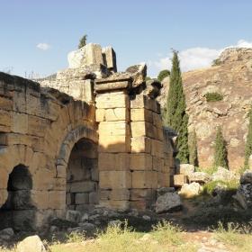 Римския град  Хиераполис в егейска Турция.