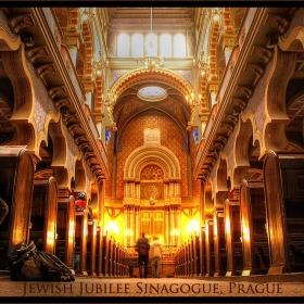 Юбилейната синагога, Прага