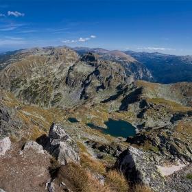 Еленини езера и в далечината Мусала