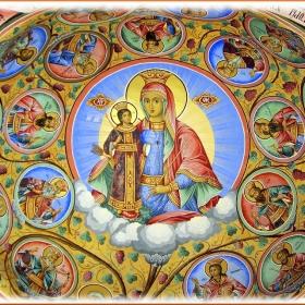 Фрагмент от Рилския манастир