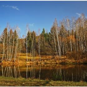 Есен край езерото