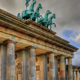 Puerta de Brandenburgo, Parque Europa, Madrid