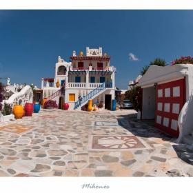 Цветната къща-Миконос