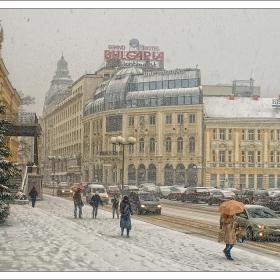 София в сняг