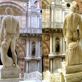 PALAZZO DUCALE-Венеция-двамата гиганти МАРС и НЕПТУН