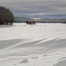 Зима на Широка поляна