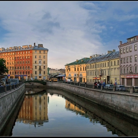 Санкт- Петербург. Канал