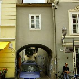 Вильнюс.На Замковой улице.