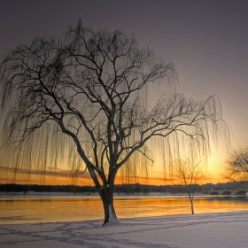 Залез над замръзналия Потомак (три години по-късно)