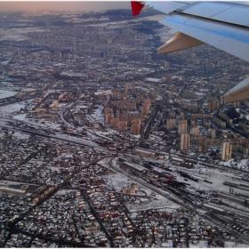 ...Диър Пасънджърс,след секунди ще прелетим над Гара Подуене...:)))      ( Have a nice flight !! 5)