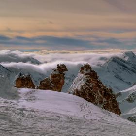 Краят на един алпийски ден
