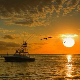 Залез в Key West