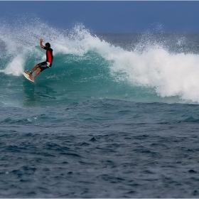 о.Бали-залива на сърфистите