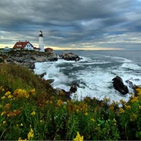 Cape Elizabeth, Maine. Portland Head Lighthouse