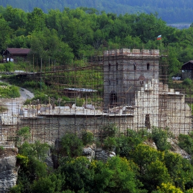 Разкопките на хълма Трапезица