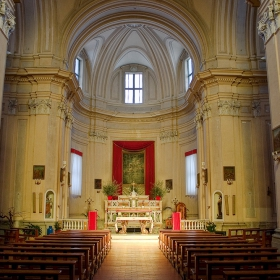 La Chiesa di S. Giorgio (1570) Oriolo Romano - Italy
