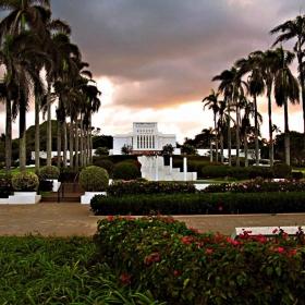 LDS Temple-Hawaii