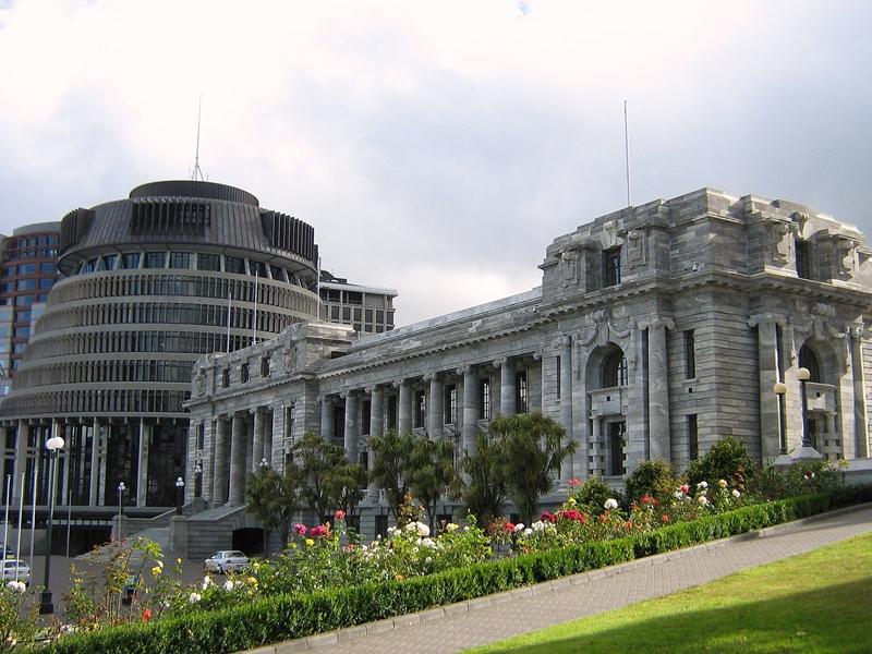Сградата на парламента на Нова Зеландия