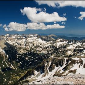 Поглед от връх Вихрен
